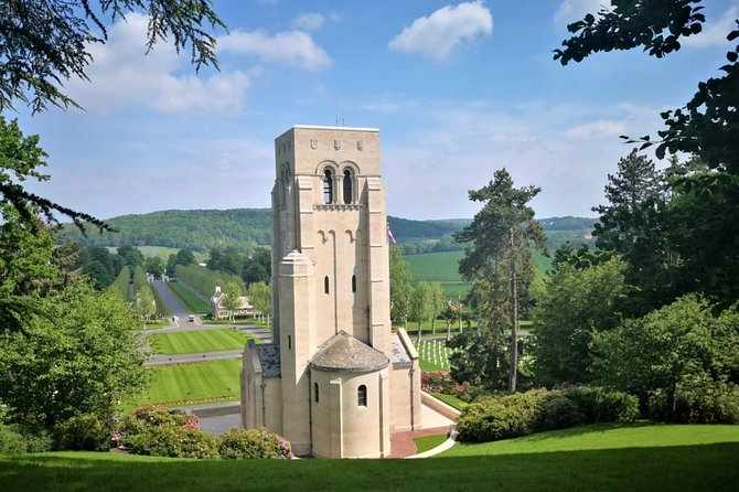 WW1 Belleau Wood and American Monument in Château-Thierry - Day trip from Paris