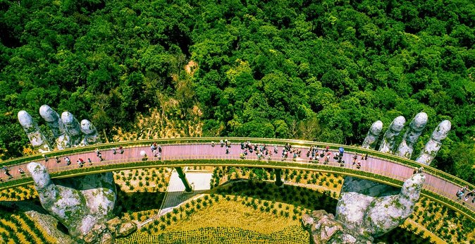 Golden Bridge Ba Na Hills Full day Small Group Tour from Hoi An City