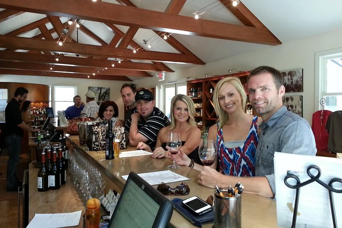Paso Robles Wine Adventure with pickup from Cambria, CA