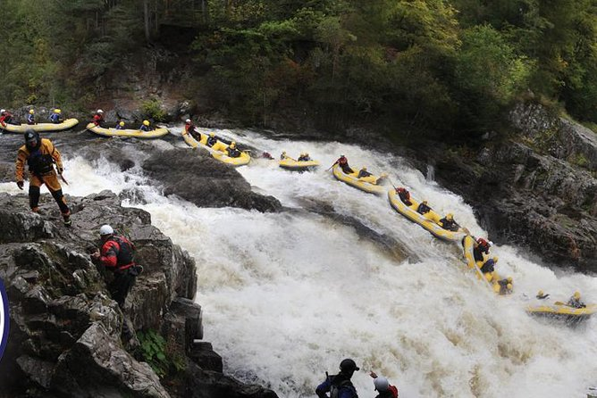 White Water Rafting Half-Day Trip on the River Tummel