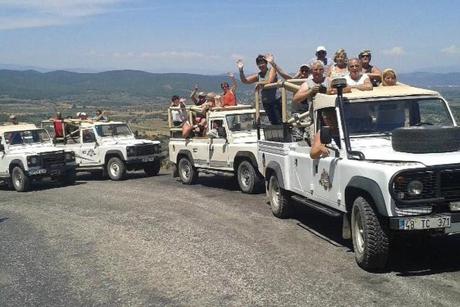 Bodrum Jeep Safari With Lunch - 4x4 Off-road Fullday Tour