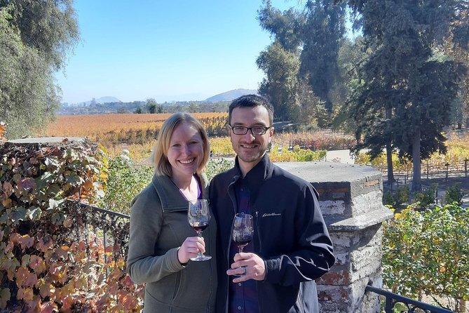 Private Maipo Valley Historic Wine Tour: Santa Rita and Concha y Toro Vineyards