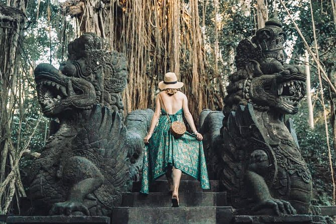 Jungle Swing and Bali Ubud Rafting with Lunch Transport