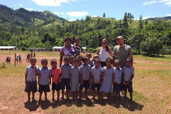 ATV Quad Bike Adventure Tour to Remote Village and School (Departs Nadi)