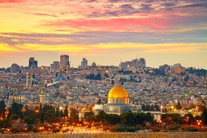 Jerusalem Old City & Mount Zion from Jerusalem