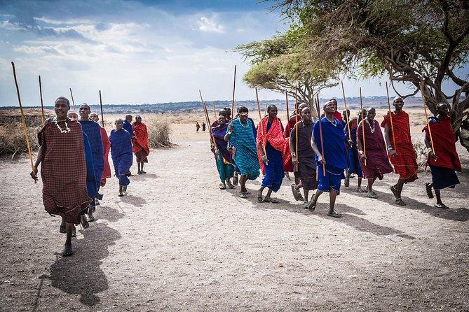 Maasai village and hotsprings