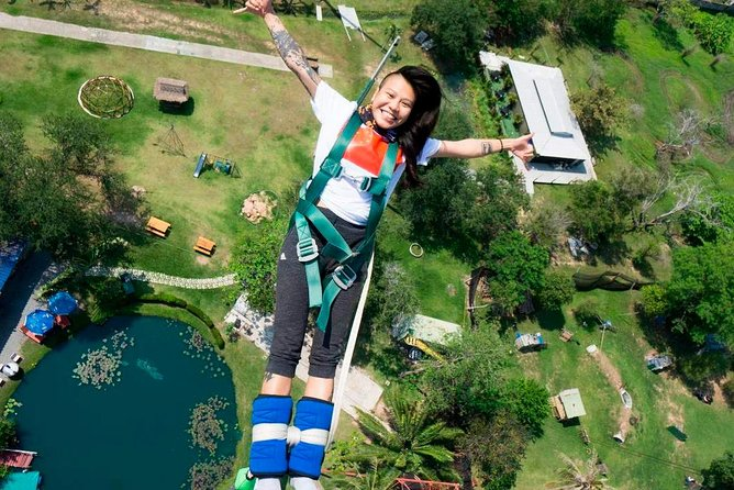 Thailand Highest Bungy Jump Adventure from Pattaya including Transfer