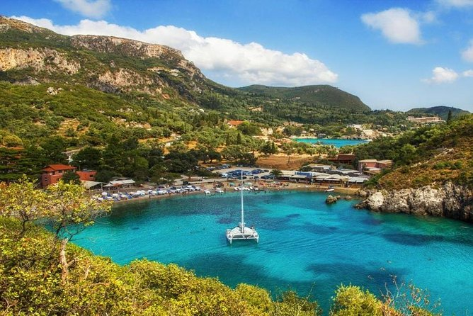 Corfu Private Tour Including Beaches and Local Wine Tasting