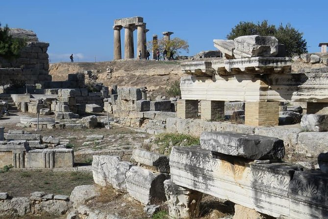 Ancient Corinth - Wine Tasting - Kapsia Caves & Great Lunch: Private Day Tour