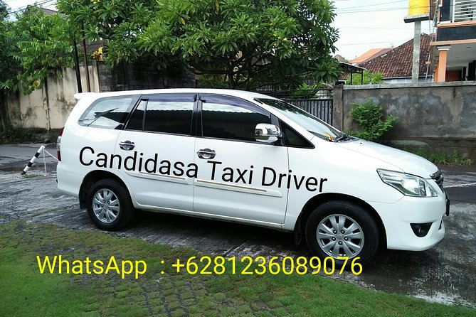 Airport to Candidasa private transfer