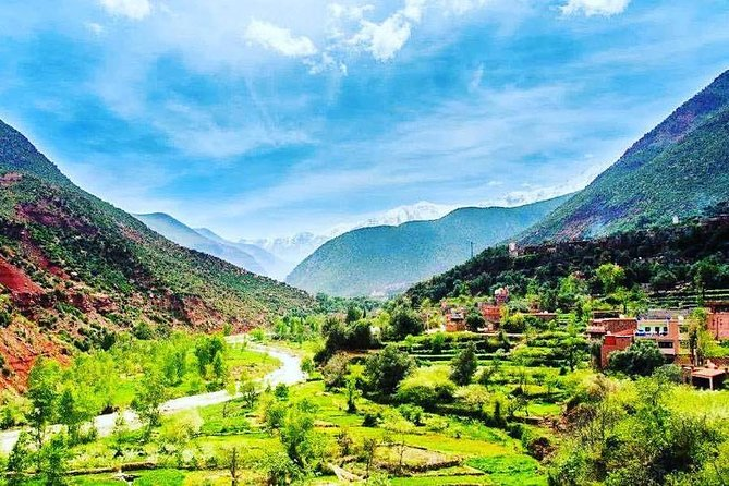 Atlas mountains berber village and camel ride full day trip