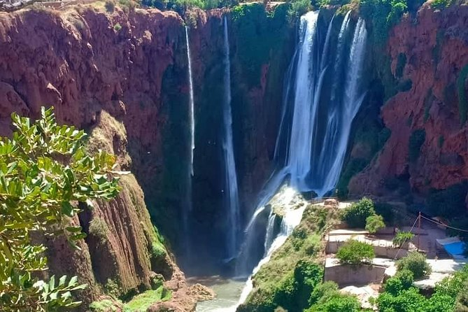 Day trip to the Ouzoud waterfalls.