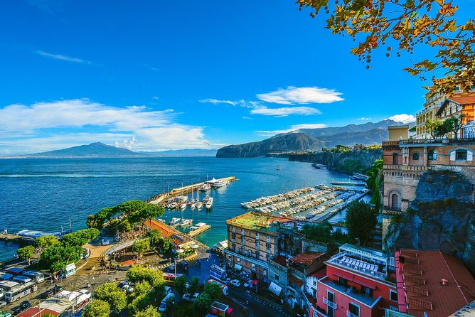Private Transfer from Amalfi to Sorrento: Door-to-Door, English-speaking driver