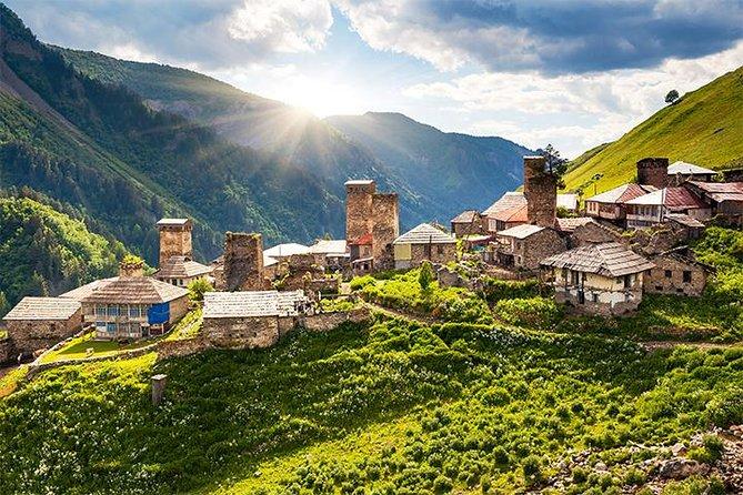 Private tour from Kutaisi to Svaneti