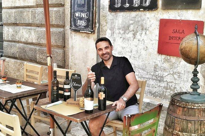 Rich tasting of Salento wines