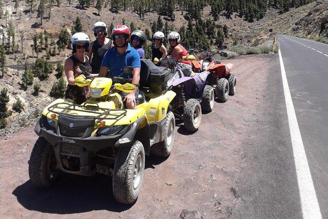 Volcano Teide Small Group Quad Trip