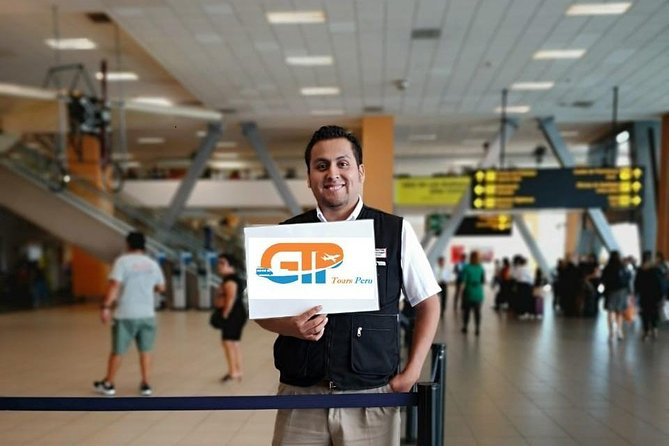 WELCOME MEETING LIMA AIRPORT