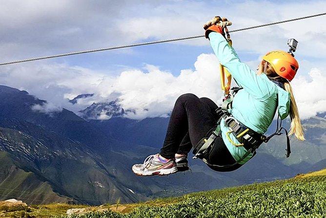 From Cusco: Zip Line Ride Adventure