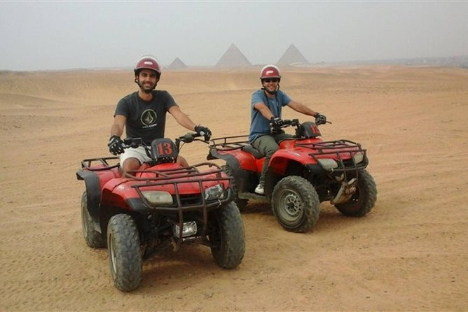 Quad bike Pyramids desert tour