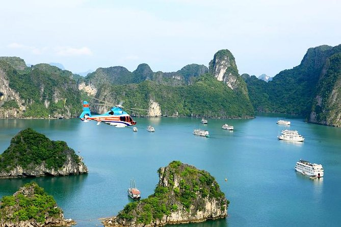 Halong Bay Scenic Flight by Helicopter