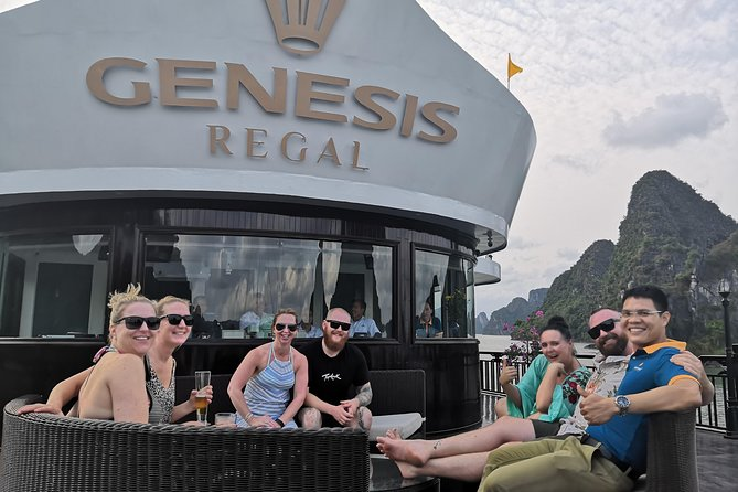 Halong Genesis Regal 5star Cruises 2D1N Less Touristic Area
