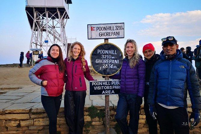 Ghorepani Poonhill treks 5-days