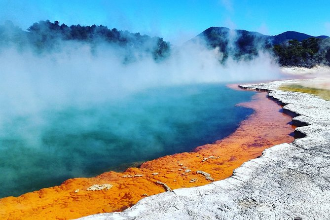 Waimangu Volcanic Valley Tour Option to add Hobbiton Wai-O-Tapu or Whakarewarewa