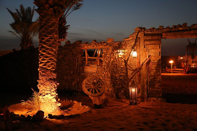 Private Vintage Land Rover Heritage Desert Safari- 4 Course Dinner & Activities