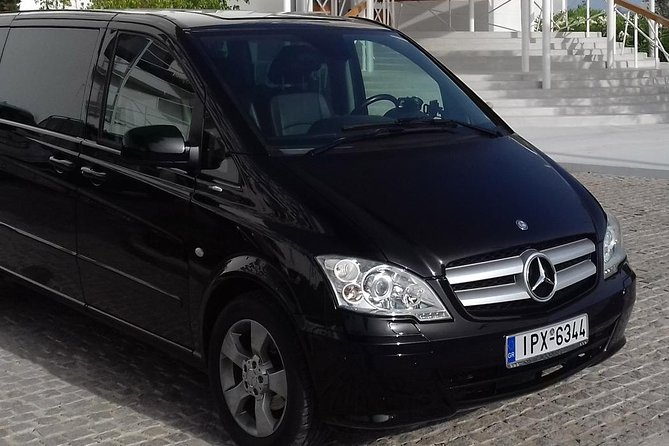 Private Transfer / Athens Airport – Kandia's Castle Hotel / Up to 8 Persons