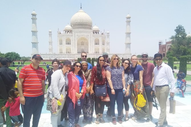 Private Delhi to Agra Day Tour included Tajmahal and Agra Fort