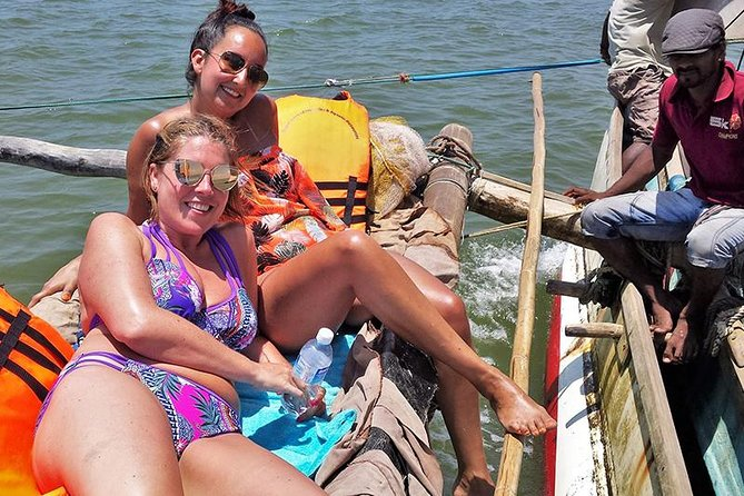 Day Tour in a Fishing Catamaran and Open top Jeep Safari in Colombo