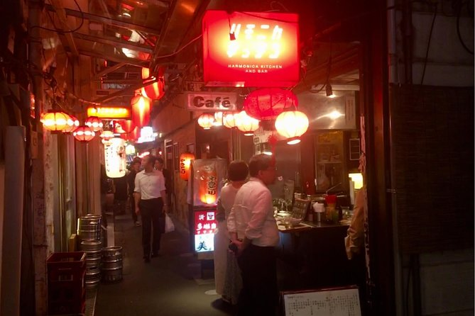Local bar hopping tour with cultural activity at Kichijoji town