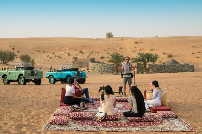 Heritage Morning Falconry & Wildlife Desert Safari with transfers from Dubai