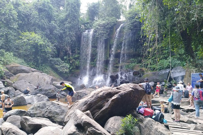 A full day to visit Phnom Kulen heritage site.