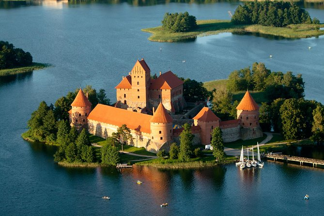 Private Hot Air Balloon Ride in Trakai from Vilnius