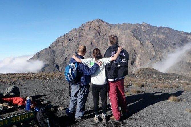 MOUNT MERU a good hike