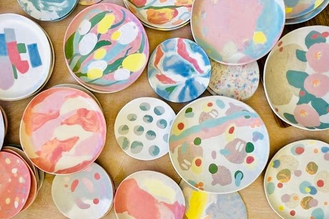 Ceramic Marble Plate One-day Workshop