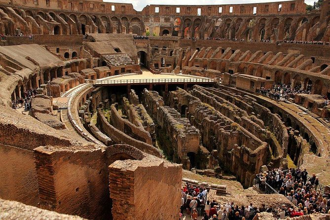 Colosseum, Roman foro and Palatine Hills guided tour