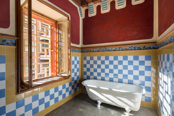Skip-the-Line Gaudi's Casa Vicens Admission Ticket with Audioguide
