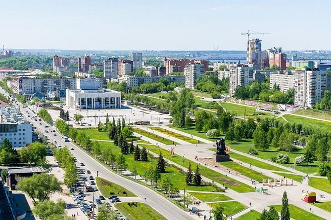 Discover fantastic Perm during Private Panoramic City Tour by car