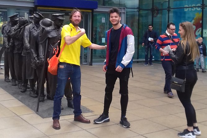 Manchester Rock & Goal Walking Tour.