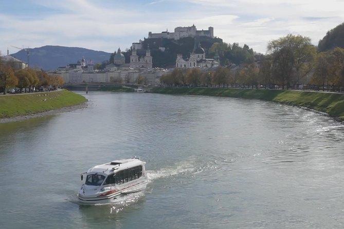 Best of Mozart Concert at Fortress Hohensalzburg with Amphibious Splash Tour