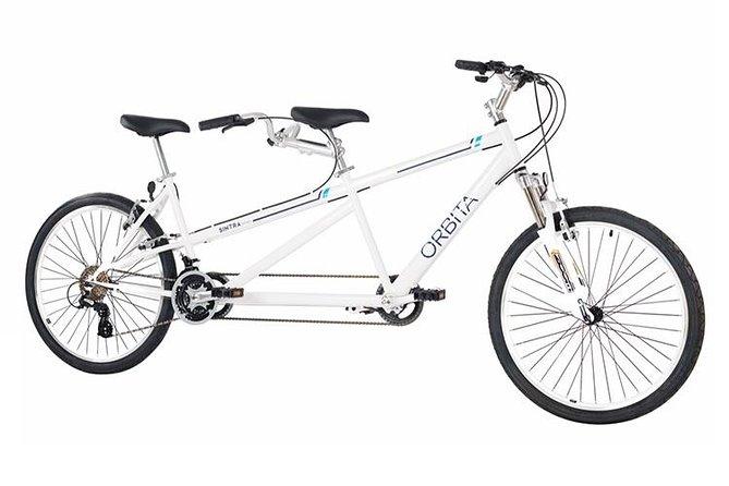 Rent a tandem bicycle