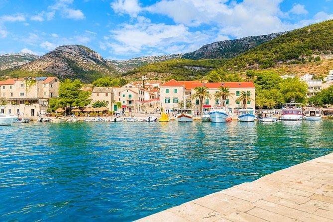 Full day Private boat tour from Split & Trogir - Brac, Hvar, Pakleni islands
