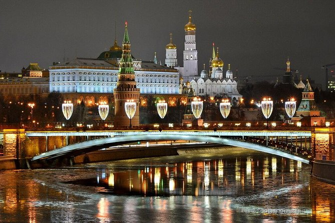 MOSCOW AT SUNSET PRIVATE TOUR (private car, 4 hours)