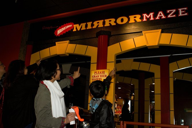 Skip the Line: Ripley's San Francisco Marvelous Mirror Maze Ticket