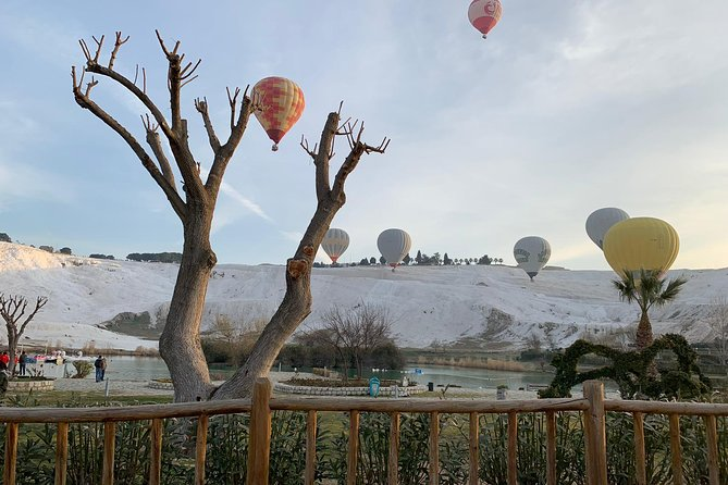 HOT AIR BALLOON RIDE PAMUKKALE Breakfast & Champagne Celebrate