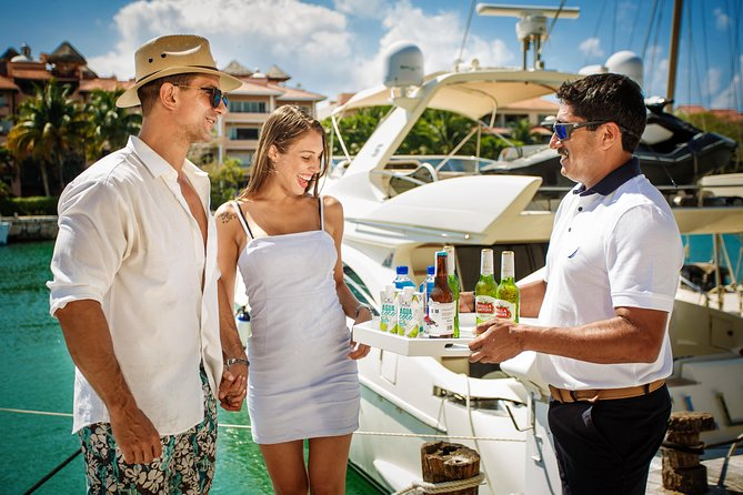 "2-Hour. Private 58"" Azimut Yacht. Up to 12 people. Sunset Dinner Experience."
