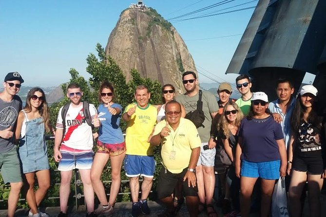 Pão de Açúcar: Includes Transfer, Tour Guide and Pão de Açúcar Tickets.