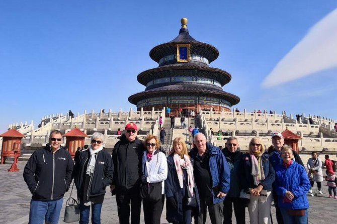 Beijing Private Layover Guided Tour to Great Wall & Temple of Heaven & Hutong